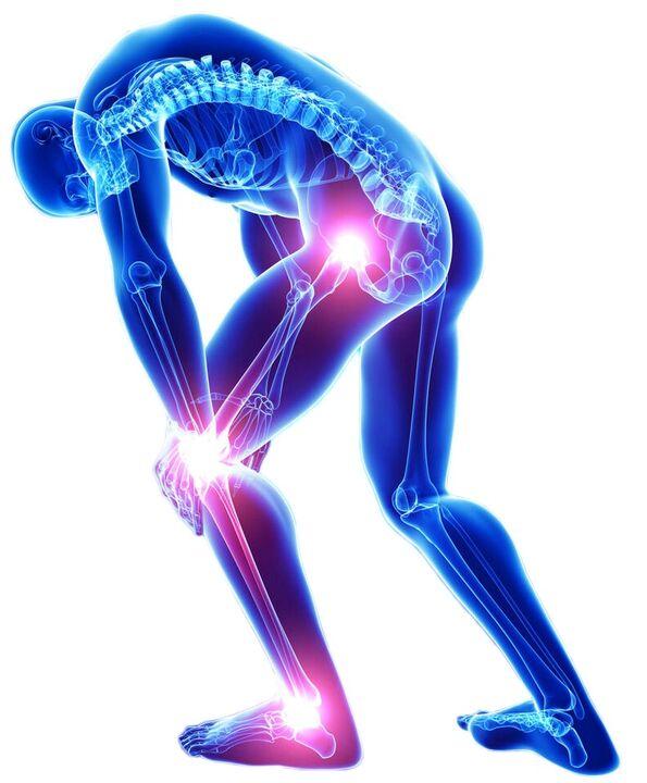 sąnarių tepimo mazi už nugaros ir sąnarių gydymą