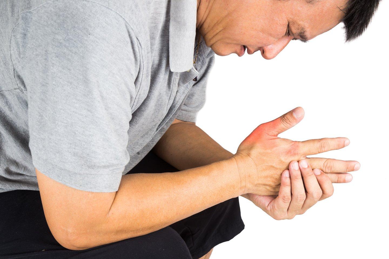 sąnarių uždegimą į priežasties rankose