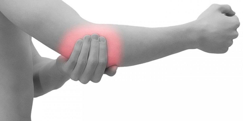 skausmo priežastis dėl plaštakos šepečiai sąnarių