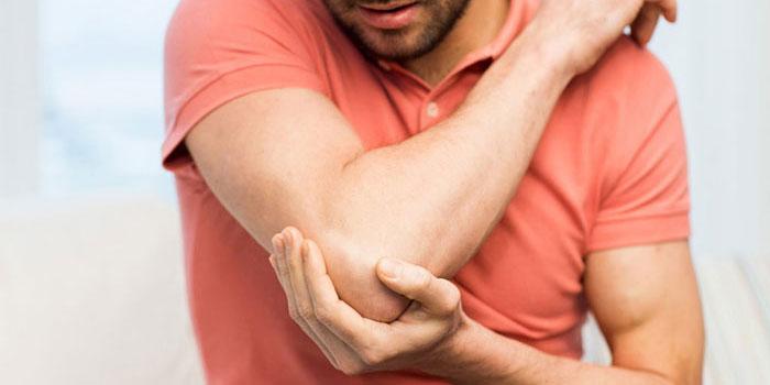 skauda alkūnės raumenų sąnarių skauda sąnarius kuris savo ruožtu