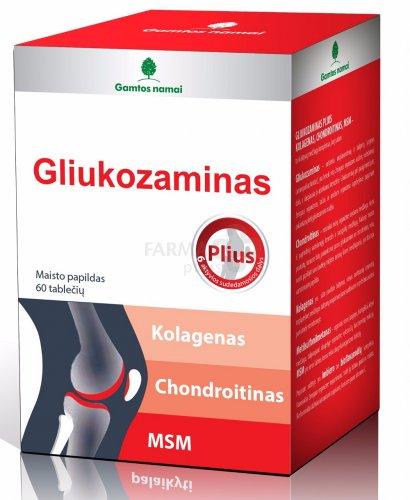 apsauga sąnarių gliukozamino ir chondroitino