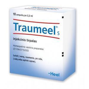 homeopatinis vaistas sąnarių uždegimu stiprus skausmas į petį sulyginti ką daryti