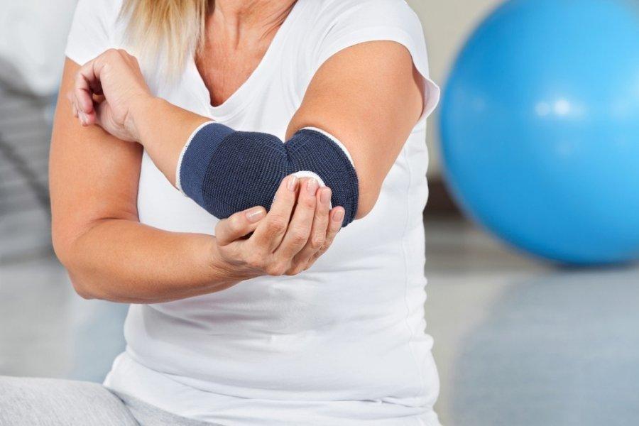 skausmas alkūnės sąnario raiščių