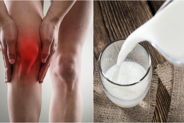 pieno ligų sąnarių